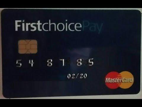 card FirstChoice