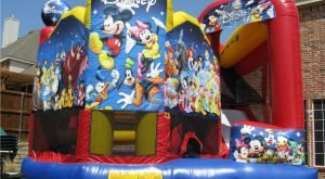 castel gonflabil Mickey_Mouse